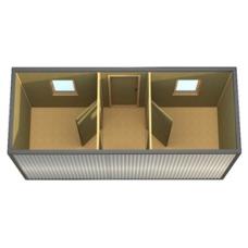 Блок-контейнер БК-4 ДВП 3,2 мм